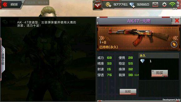 CF手游AK47火鹰怎么样 AK47火鹰属性介绍[图]