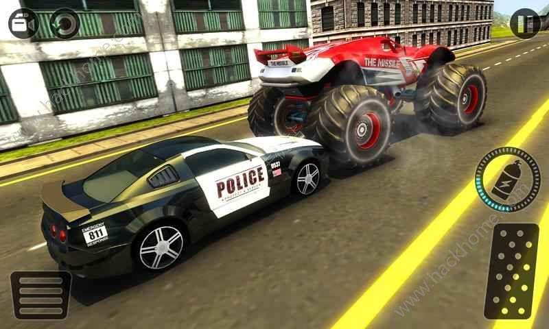 警方追捕怪物车游戏安卓版下载图2: