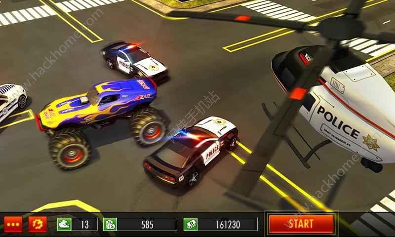 警方追捕怪物车游戏安卓版下载图4: