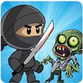 忍者剑与像素僵尸中文无限金币破解版(Ninja Sword vs Pixel Zombies) v1.2
