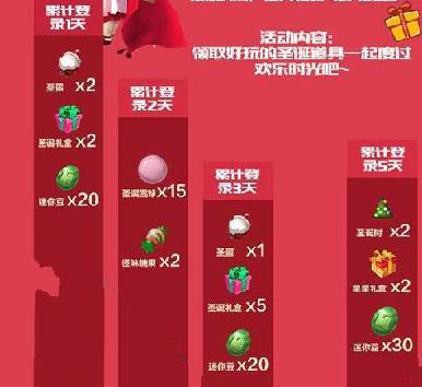 迷你世界圣诞节活动 圣诞节活动奖励汇总[多图]