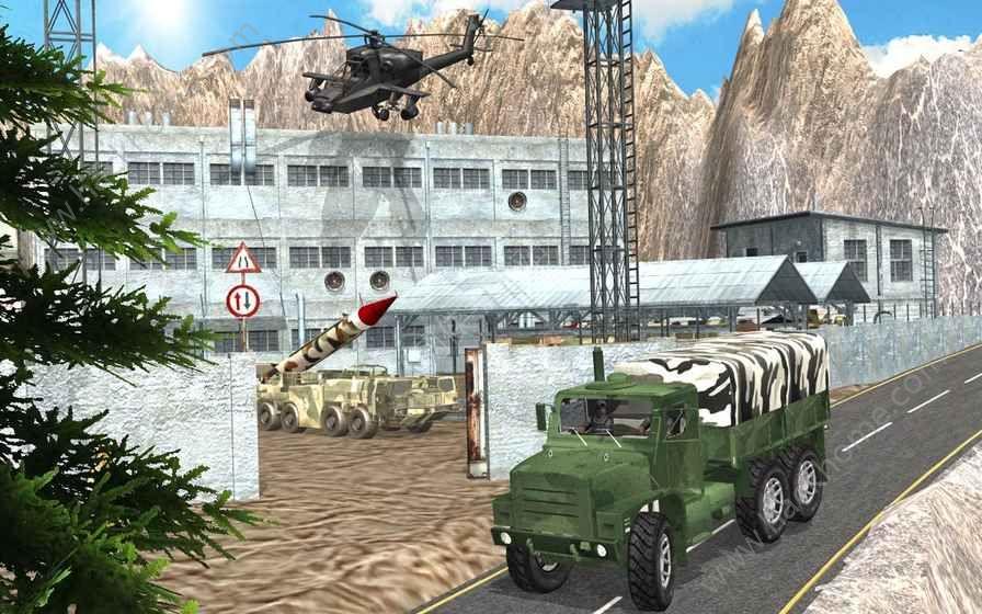 推动军队检查站卡车游戏安卓版图2: