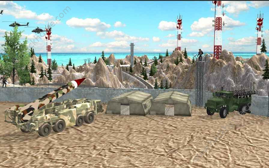 推动军队检查站卡车游戏安卓版图4: