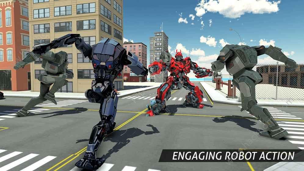 空中机器人游戏下载安卓版图2: