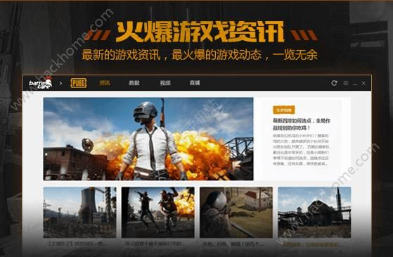 绝地求生战场助手官网app内测版图4:
