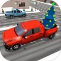 圣诞节司机圣诞老人比赛游戏官方版 v1.0
