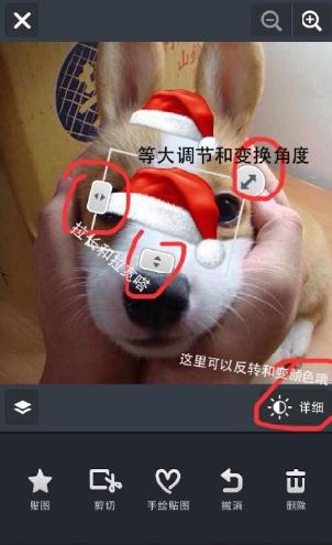 Line Camera怎么弄圣诞帽?Line Camera怎么给头像P个圣诞帽?[多图]