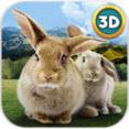 手机养兔子