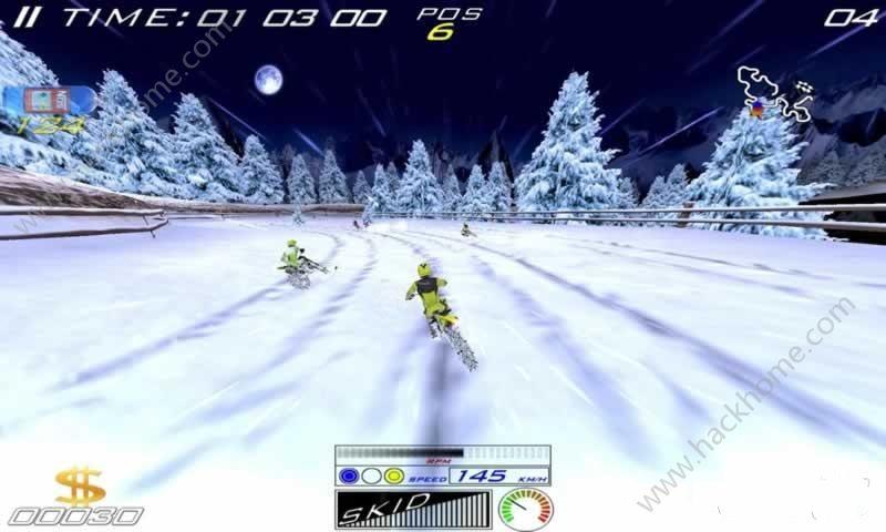 极限滑雪摩托无限金币中文破解版(XTrem SnowBike)图2: