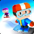 方块单板滑雪无限金币中文破解版(Snowboarding) v1.0.95