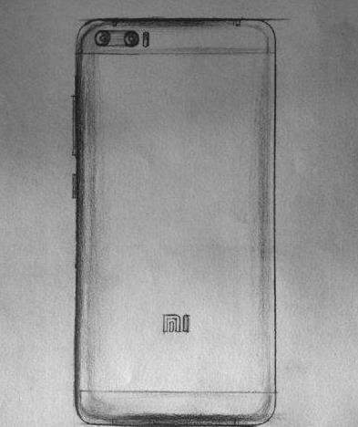 小米6渲染图曝光 小米6手机真机外观图片[多图]