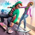 一起来滑板游戏