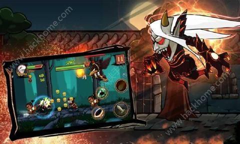 忍者战争之旅游戏爽快连击版(Ninja Warrior:Revenge)图4: