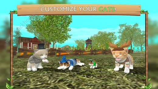 猫咪生存模拟器无限金币内购破解版(Cat Sim)图4: