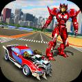 机器人战争变革战斗无限金币中文破解版(Car Transformation Robots War) v1.2