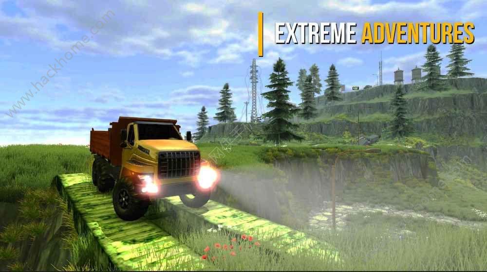 卡车模拟器越野3中文汉化版下载(Truck Simulator Offroad 3)图5: