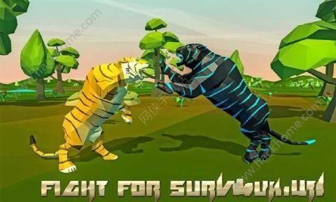 老虎模拟器幻想森林游戏中文汉化版(Tiger Simulator Fantasy Jungle)图1: