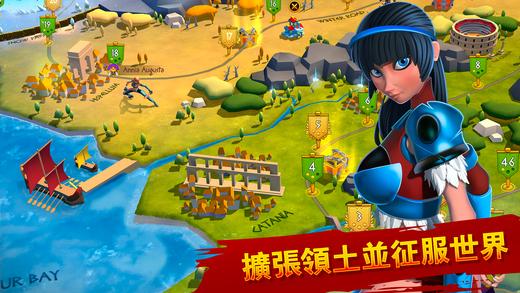 角斗士英雄游戏中文安卓版(Gladiator Heroes)图2: