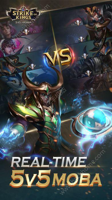 传奇对决5V5手游官方网站(Strike of Kings)图1: