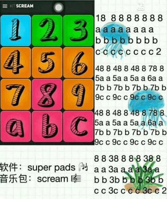 superpads kit pedacito谱子