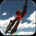 火柴人�K索�b客2游�蛑形�h化版(Stickman Rope Hero 2) v1.1