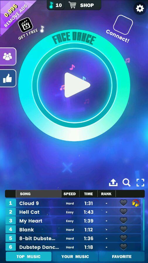 FaceDance视频 脸部跳舞机游戏视频分享[图]