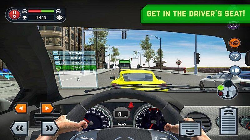 汽车驾驶学校模拟器游戏安卓版下载(Car Driving School Simulator)图5: