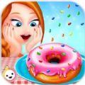 甜甜圈面包店�o限金��荣�破解版(Donut Bakery ShopKids Food Maker Games) v1.1.2