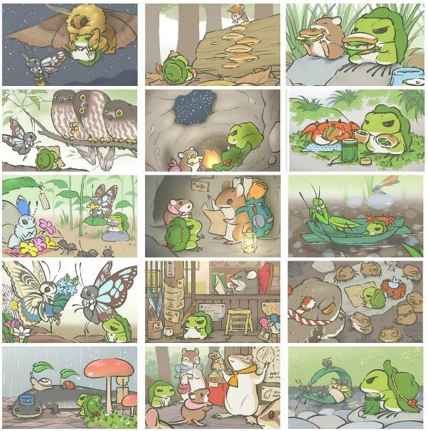 旅行青蛙稀有照片明信片有哪些 稀有照片明信片汇总[多图]