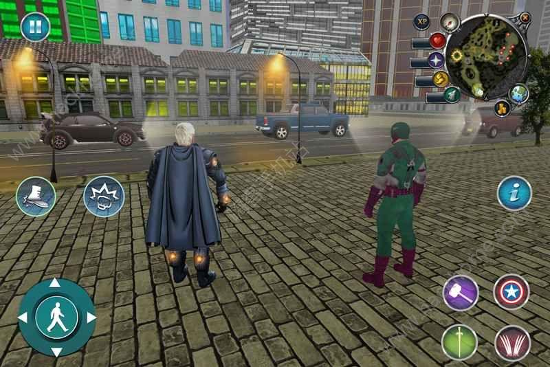 密码超级英雄与超级恶棍无限金币中文破解版图4: