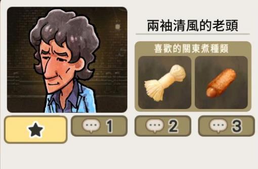 关东煮店人情故事3两袖清风的老头结局攻略[多图]