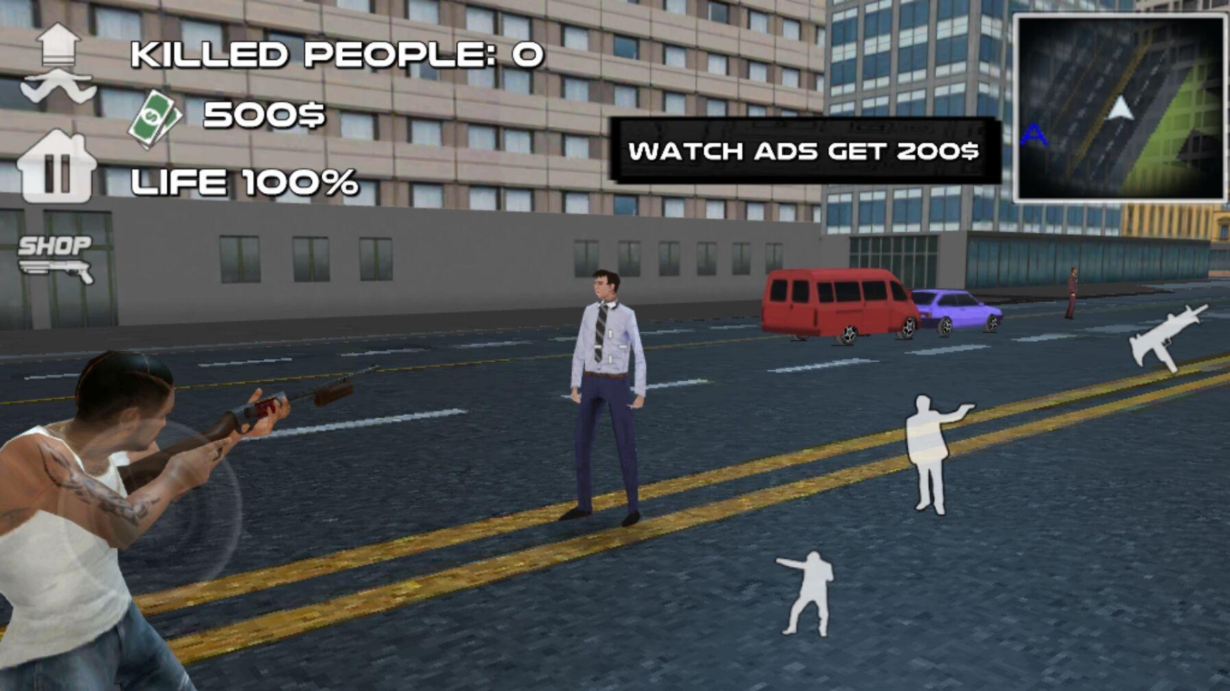 疯狂匪徒游戏安卓最新版下载图2: