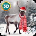 圣诞鹿动物生存游戏安卓版下载 v1.0