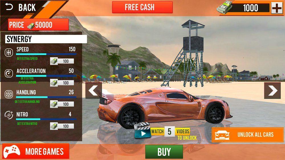 沙滩赛车3D游戏安卓最新版下载图4: