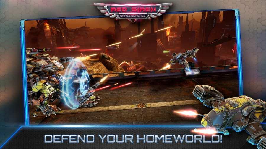 红警太空防御游戏安卓版最新下载图2: