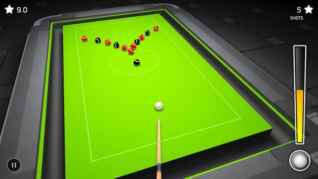 疯狂桌球3D游戏安卓中文版下载(3D Pool Madness)图5: