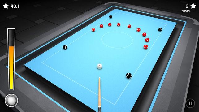 疯狂桌球3D游戏安卓中文版下载(3D Pool Madness)图1: