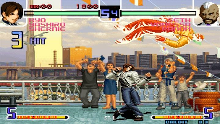 拳皇2002魔幻加强版下载图2: