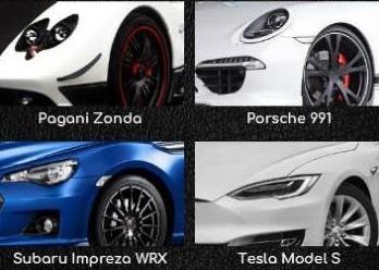 Supercars Keys