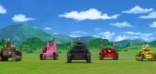 少女与战车集结大家的战车道