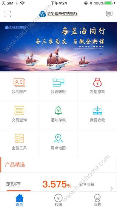 济宁蓝海村镇银行客户端app手机版下载图3: