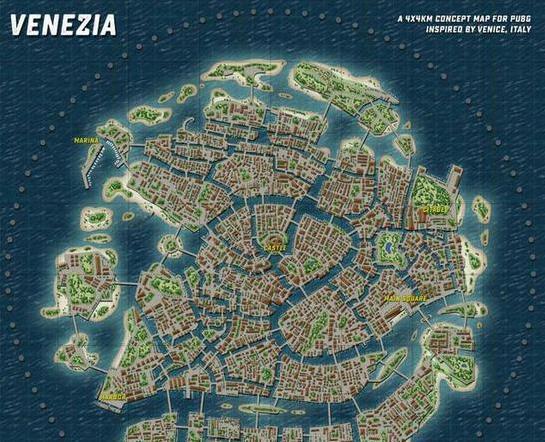 绝地求生威尼斯水城什么时候出 威尼斯水城上线时间介绍[多图]