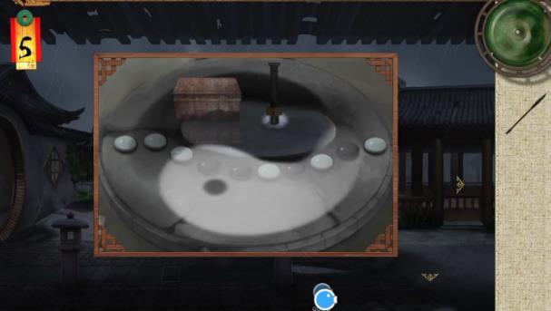 密室逃脱绝境系列3画仙奇缘纽扣盒子怎么转?[多图]