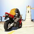 大坡道特技摩托车无限金币完整破解版 v1.1