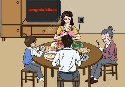 妈妈不让我看电视第29关攻略 吃饭图文通关教程[多图]