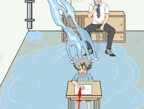 作弊不要被老师发现第11关攻略 水管图文通关教程[多图]
