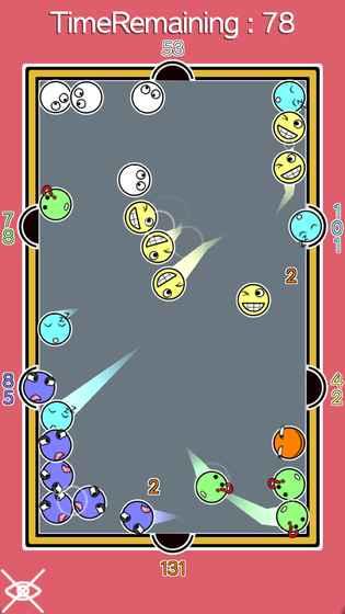2048滑稽桌球.io游戏安卓最新版图4: