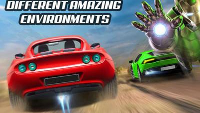 超级英雄赛车特技比赛游戏安卓最新版下载图5: