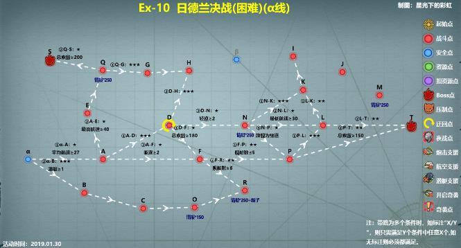 战舰少女R跨越静海E10攻略 日德兰决战困难通关打法及路线详解[多图]