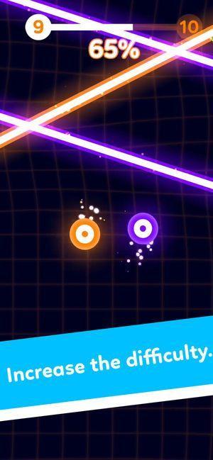 躲避杀手激光束官方中文安卓版(Balls VS Lasers)图1: